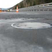Bodensensor auf der Brücke E21